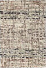 Decor24-OB Handgeweven designer vloerkleed Lima - Wol - Taupe - 120x170 cm