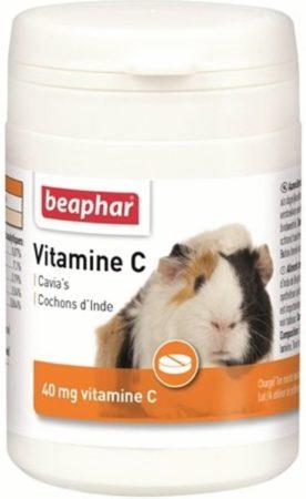 Afbeelding van Beaphar Vitamine C Tabletten - Supplement - Sinaasappel 180 stuks