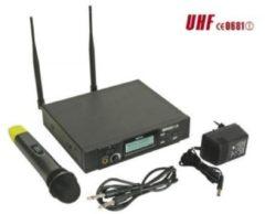 Velleman PLL DRAADLOOS 8-KANAALS UHF TRUE DIVERSITY MICROFOONSYSTEEM MET LCD-SCHERM (MICW42)