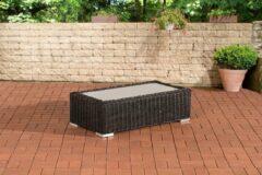 CLP-Trading Loungetafel Madiera 110 x 60 Zwart