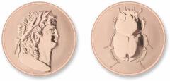 Mi Moneda ROM-03 Roman - Scarabee rosekleurig Medium
