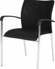 Zwarte SKEPP RoomForTheNew Conferentiestoel 022- Vergaderstoel - Conferentiestoel - luxe stoel - stoel - vergaderen - eetkamerstoel - conferentie stoel - vergader stoel