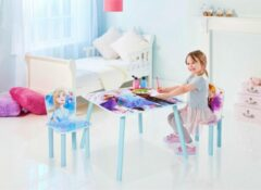 Blauwe Worlds Apart Disney Frozen - Kids Table and 2 Chairs Set (527FZO01E)