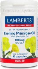 Lamberts Teunisbloem met Borageolie - 1000 mg - 90 Vegetarische Capsules