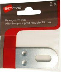 SENCYS rekogen | 75 mm | verzinkt staal | 2 stuks