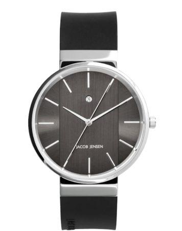 Afbeelding van Zilveren Jacob Jensen watches herenhorloge New 708