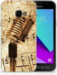 Samsung Galaxy Xcover 4 Uniek TPU Hoesje Bladmuziek