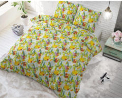 Sleeptime Fruit Trend - Dekbedovertrekset - Lits-Jumeaux - 240x200/220 + 2 kussenslopen 60x70 - Groen