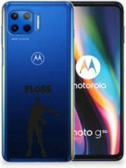 B2Ctelecom Smartphone hoesje Motorola Moto G 5G Plus Telefoontas Floss Fortnite