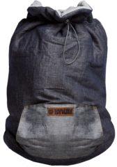 Grijze ByKay - Jasje voor over een babydrager - Cover - Dark Jeans / Grijs Melee - one size