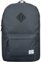 Heritage Backpack Rucksack 47 cm Laptopfach Herschel heritage dark shadow-black pebbled leath