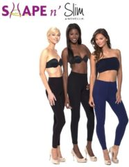 Blauwe Shape and Slim Shape n Slim Shape 'N Slim Legging Legging Legging - Afslanklegging