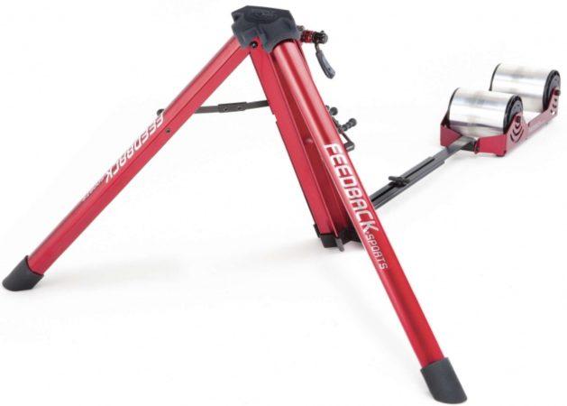 Afbeelding van Feedback Fietstrainer Omnium Portable (progres. Weerstand) - Fietstrainer - Unisex - Rood