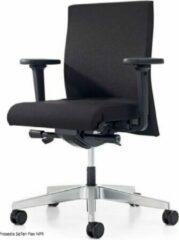 Prosedia Se7en Flex bureaustoel met universele wielen, stof, zwart
