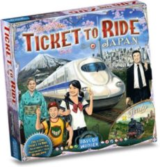 Days of Wonder uitbreiding Ticket to Ride - Japan/Italy
