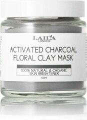 Laila London Actived Charcoal Floral Clay Mask All Skin Types 120ml.