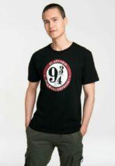 Zwarte Logoshirt Heren T-shirt Maat XS