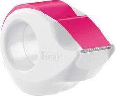 Tesafilm Neon tape, ft 19 mm x 10 m, op dispenser, gessorteerde kleuren: geel of roze