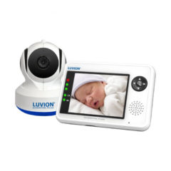 Witte Luvion Essential Plus babyfoon set