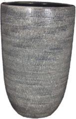HS Potterie Grijze Vaas/Pot Stockholm - Grijze Vaas/Pot Stockholm 28x60
