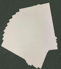 Quantore Grote vellen XL Knutselkarton - Surprisekarton - Hobbykarton - Fotokarton - 50x70 cm - 10 witte vellen - Gratis Verzonden