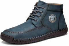 Newchic Menico Men Microfiber Leather Side Zipper Ankle Boots