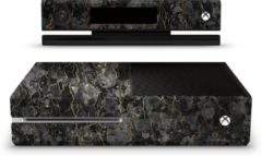 Gouden Ucustom Xbox One Console Skin Marble