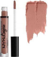 Roze NYX Cosmetics NYX Lip Lingerie Liquid Matte Lipstick - LIPLI18 Cashmere Silk