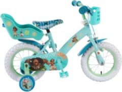 Volare 12 ZOLL VOLANTE DISNEY VAIANA Junior Bike Kinder türkis