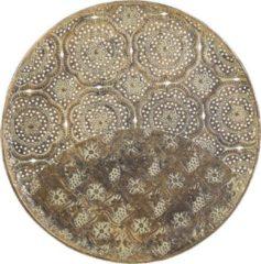 Beliani Decoratieve schaal goud KITNOS