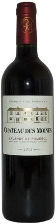 Afbeelding van Chateau des Moines Lalande de Pomerol, 2018, 375 ml, Bordeaux, Frankrijk