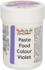 Paarse FunCakes Eetbare Kleurstof Pasta Violet 30g