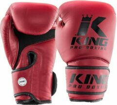 King Pro Boxing King (kick)bokshandschoenen KPB Star Mesh 3 Rood 16oz