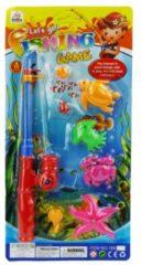 ARO toys Visspel met werphengel plastic