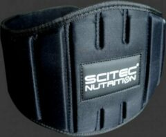 Zwarte Scitec Nutrition Scitec - Gewichtshef Gordel - Rugriem - Halterriem - model Fitness - Extra Breed - XL