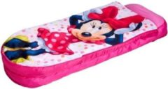Roze Worlds Apart Readybed junior Minnie Mouse - 150x62x20 cm - Kinderslaapzak Disney Minnie Mouse