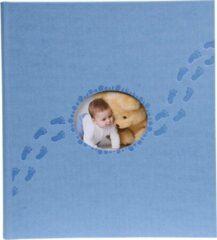 Exacompta Fotoalbum PILOU baby - boekgebonden - 60 witte bladen - 29x32cm, Blauw