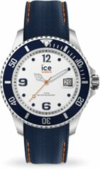 Zilveren Ice-Watch ICE Watch IW016771 - Steel - White Blue - Horloge - Medium