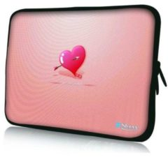 Roze Sleevy 13,3 inch laptophoes valentijn - laptop sleeve - laptopcover - Collectie 250+ designs