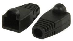 Valueline RJ45 knikbescherming zwart, zakje van 10 stuks