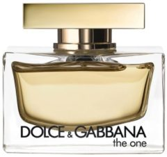 Dolce & Gabbana D&G The One For Women Edp Spray Karton @ 1 Fles X 75 Ml