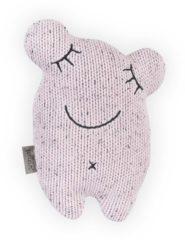 Roze Jollein knuffel Confetti monster vintage pink