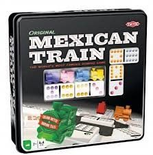 Selecta Spel en Hobby Tactic - Spel - Domino - Mexican Train - In blik