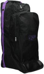 Paarse QHP Combi Laarzentas-captas - Black/Purple - Onesize