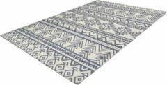Antraciet-grijze Arte Espina Yoga Vloerkleed 80 x 150 cm Antraciet