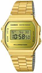 Casio A168WEGM-9EF horloge dames - goud - kunststof
