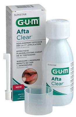 Afbeelding van G.u.m. Aftaclear mondspoeling 120 ml - medisch hulpmiddel