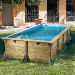 Ubbink Zwembad Azura 350x505 - Beige