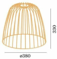 Wever&Ducre Costa 2.1 CAGE WE 90057181 Oranje
