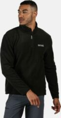 Zwarte Regatta Thompson Fleece Heren Outdoortrui - Black - Maat XL